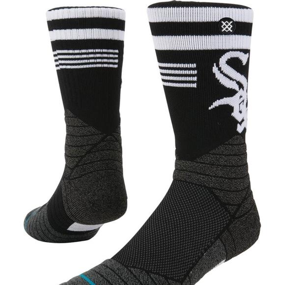 NWT Men's Chicago White Sox Stance Socks